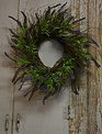 Twig Meadow Lavender Wreath