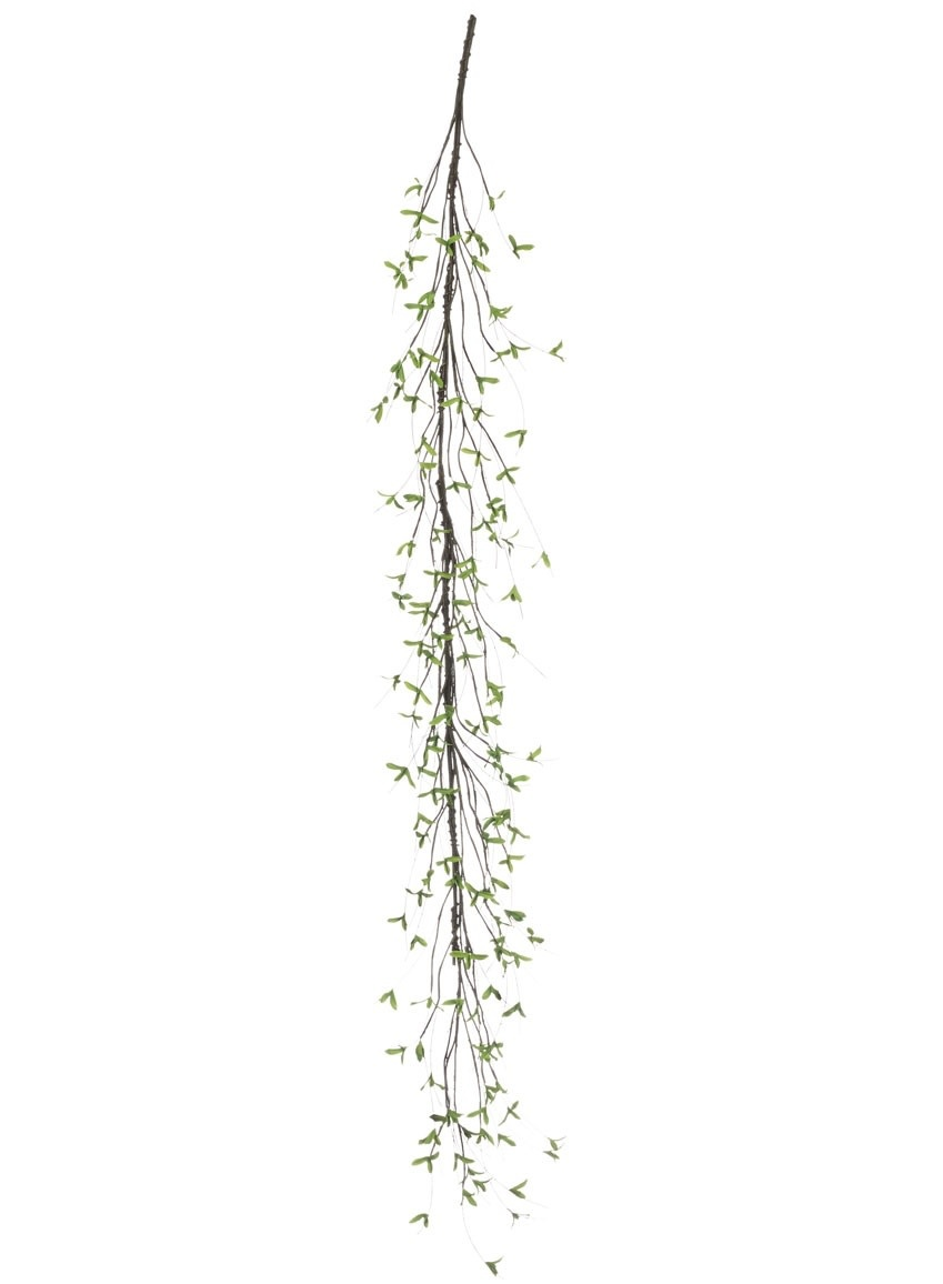 6-Ft. Willow Leaf Garland