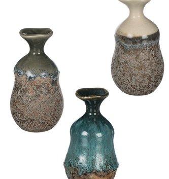 "5"" Ombre Pottery Vase (3-Colors)"