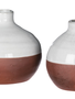 Two-Tone Small Pottery Vase (2-Styles)