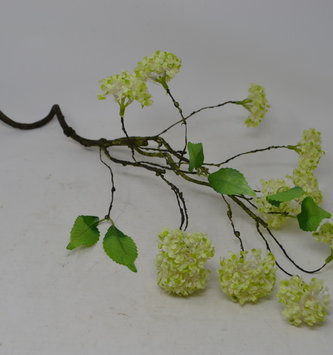 Light Green Viburnum Twig Spray