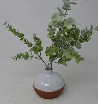 "27"" Mini Dusty Eucalyptus Spray"