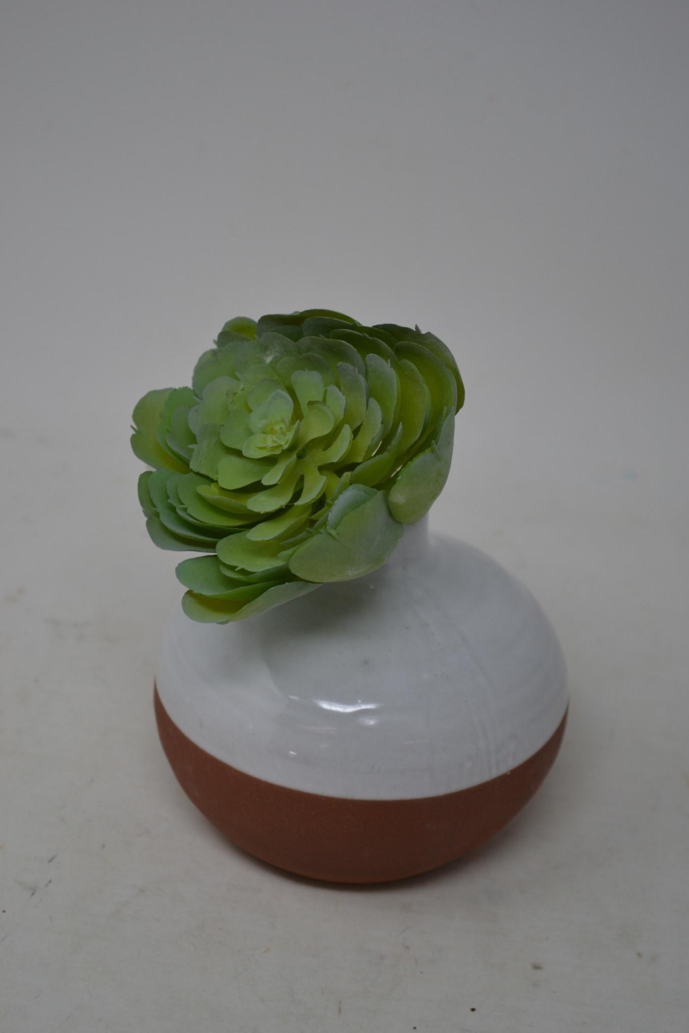 """5.5"""" Jade Green Succulent Pick"""