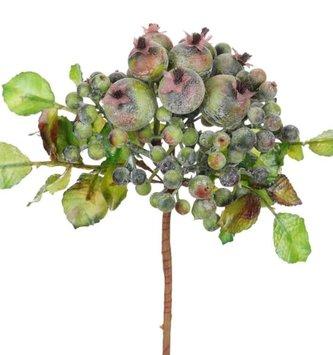 Rose Hip & Mini Berry Foliage Pick
