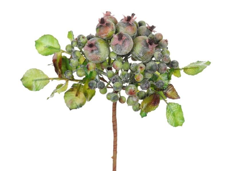 Rose Hip Mini Berry Foliage Pick Shop Stems Here The Last Straw