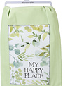 My Happy Place Green Foliage Towel