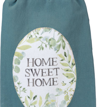 Teal Foliage Towel (2-Styles)