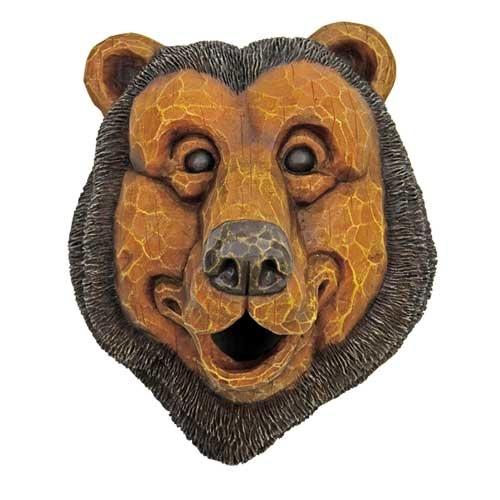Black Bear Face Birdhouse