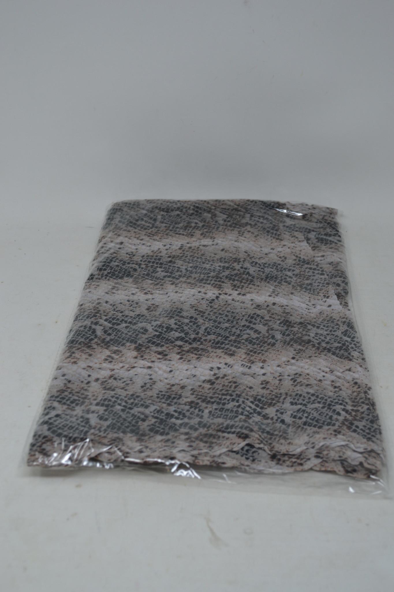 Sheer Pleated Shawl (6-Styles)