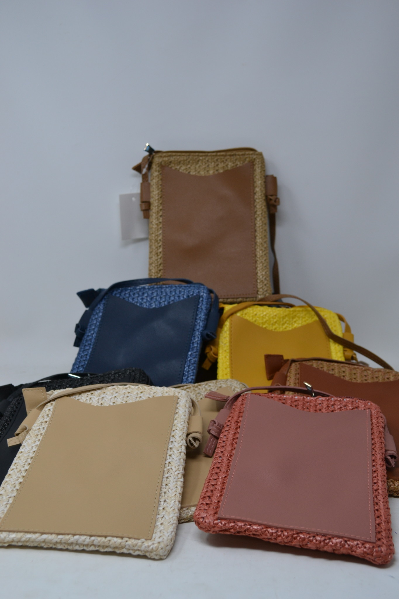 Rattan Crossbody Bag (8-Colors)