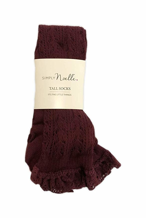 Simply Noelle Vintage Lace Boot Sock (4-Colors)