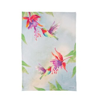 Tropical Hummingbird Kitchen Towel (2-Styles)