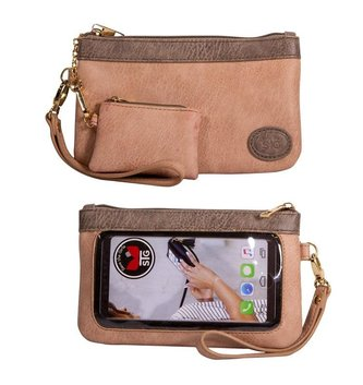 Touchscreen Wristlet Bag By: Save the Girls (5-Colors)