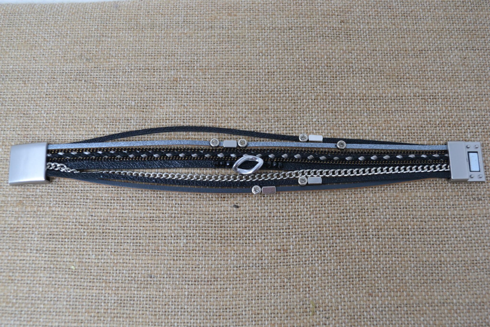 Alexa Multi-Strand Magnetic Bracelet