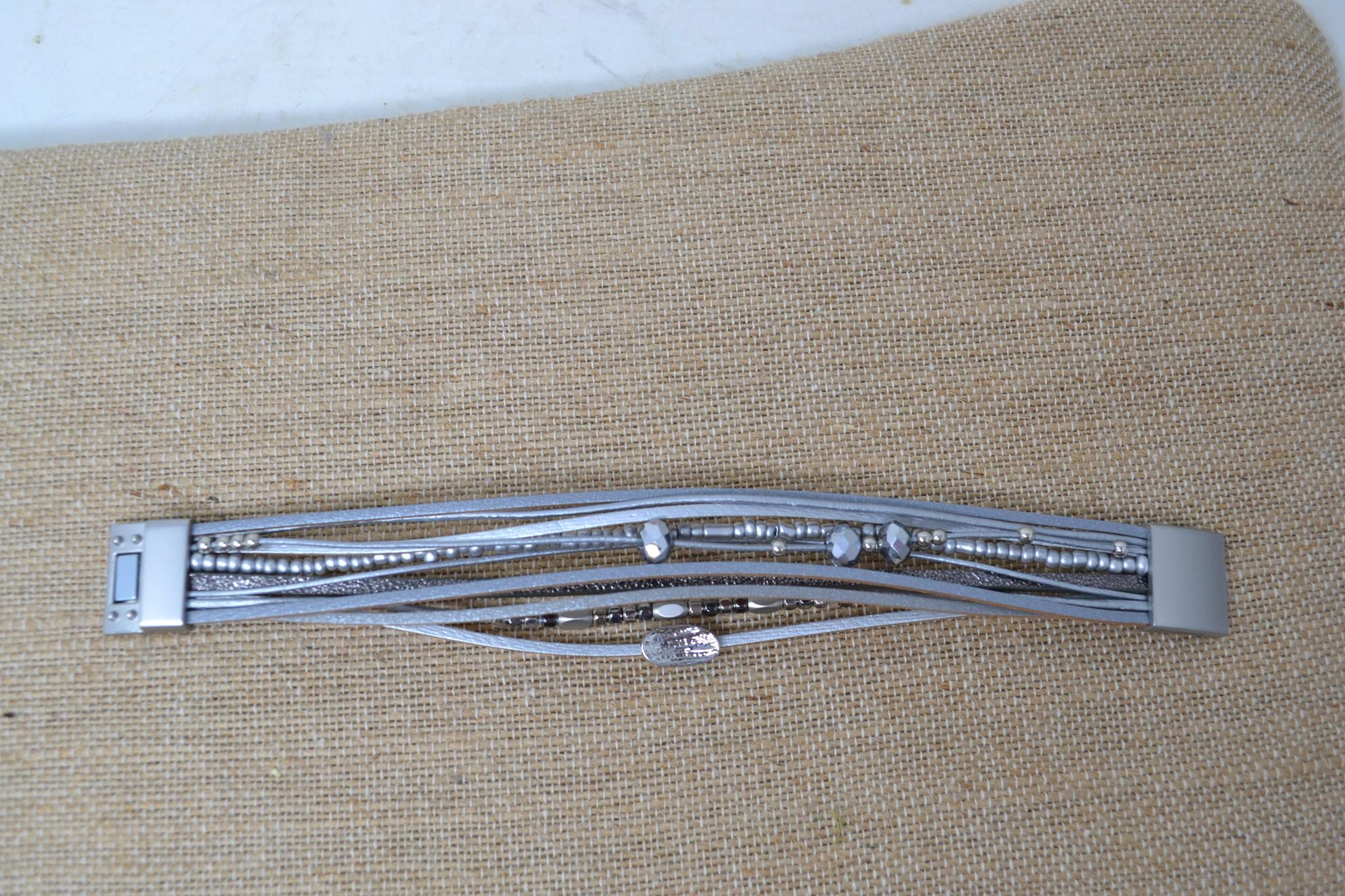 Jocelyn Multi-Strand Magnetic Bracelet