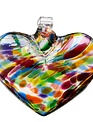 Hand-Blown Glass Hearts (6-Styles)