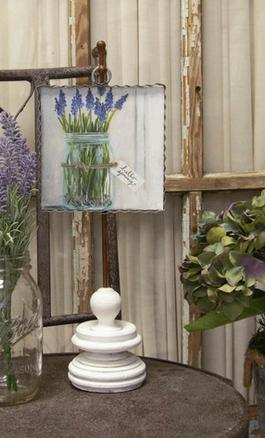 Grape Hyacinth Small Painted Print
