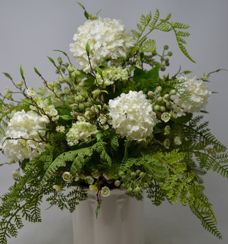 Custom Spring Viburnum Arrangement