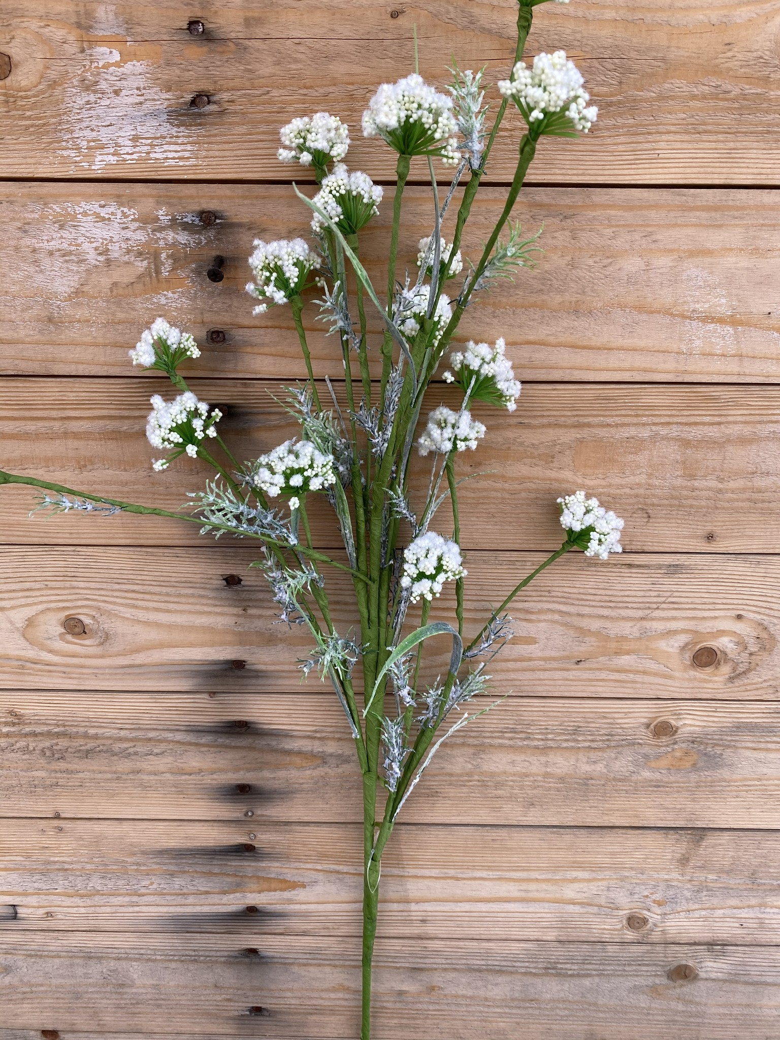"36"" Cream Wild Flower Spray"