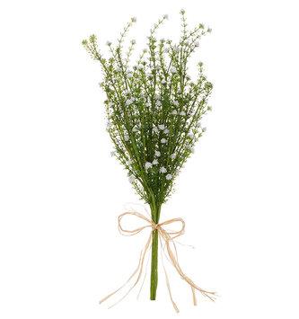 """21"""" White Mini Floral Bundle"""