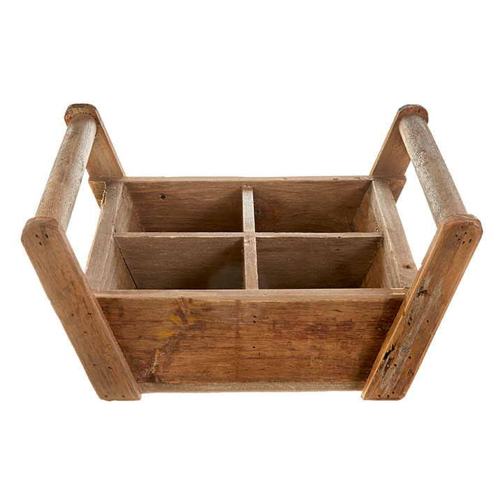 Sectioned Wooden Tray (2-Sizes)