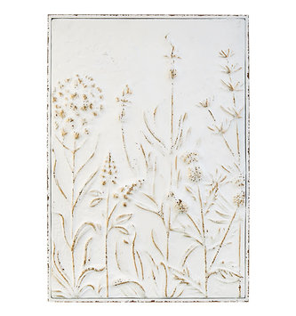 "23.5"" Wildflower Cream Wall Art"