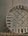 White Washed Round Tobacco Basket (3-Sizes)