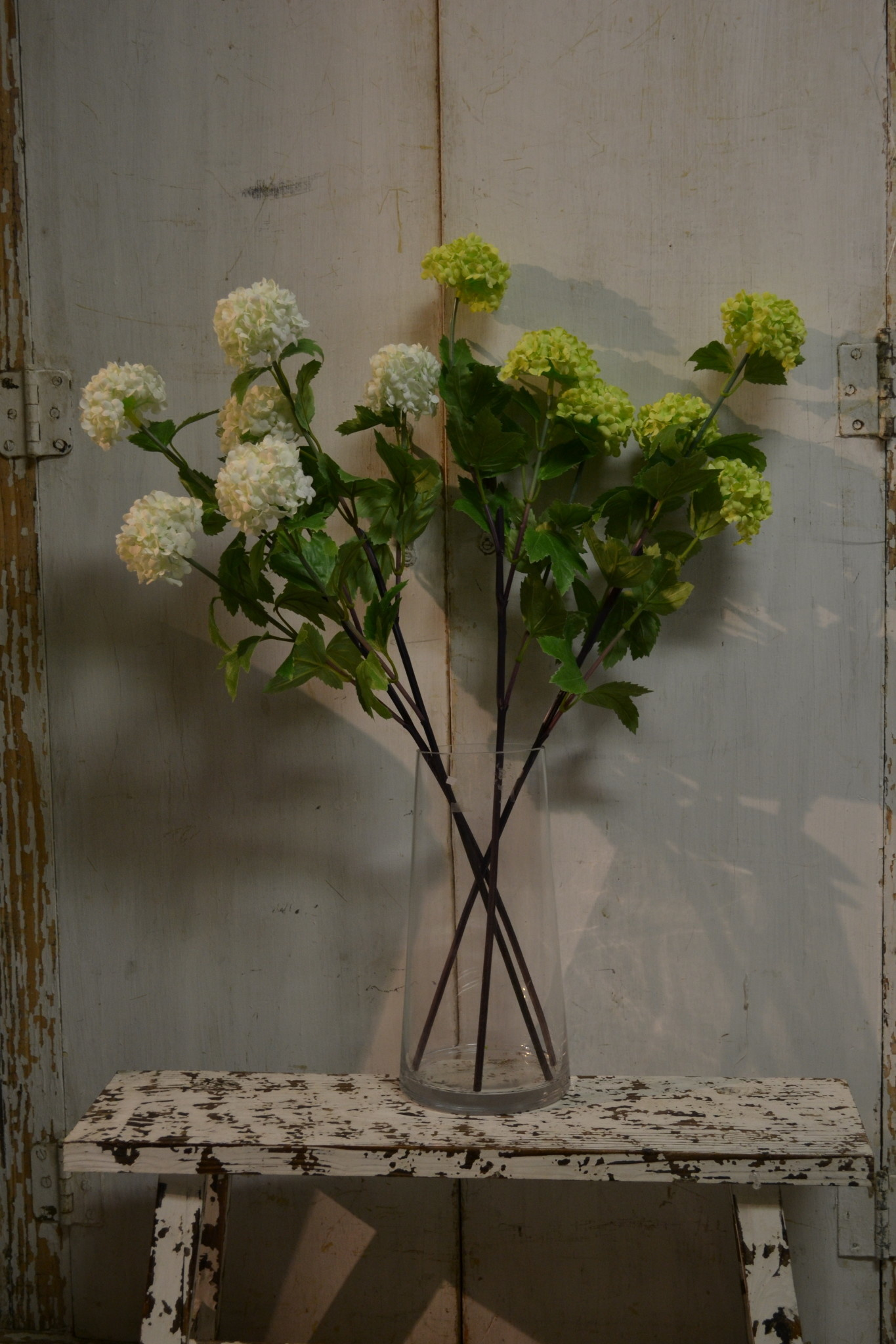 "28"" Triple Viburnum Spray (2-Colors)"