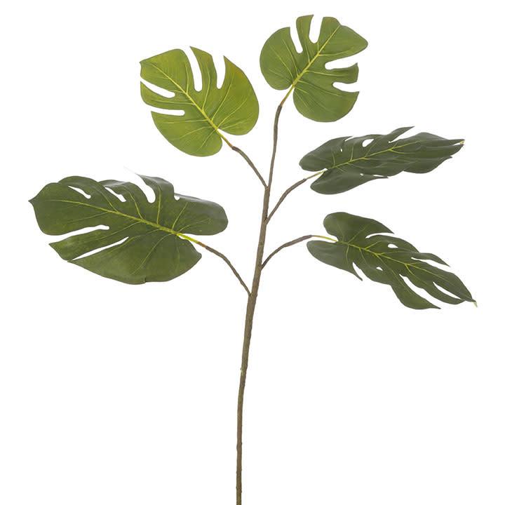 """26.5"""" Monstera Leaf Spray"""