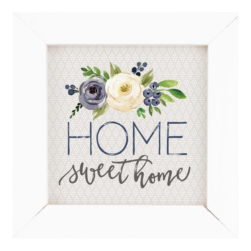Home Sweet Home Framed Small Sign
