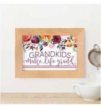 Grandkids Framed Small Sign