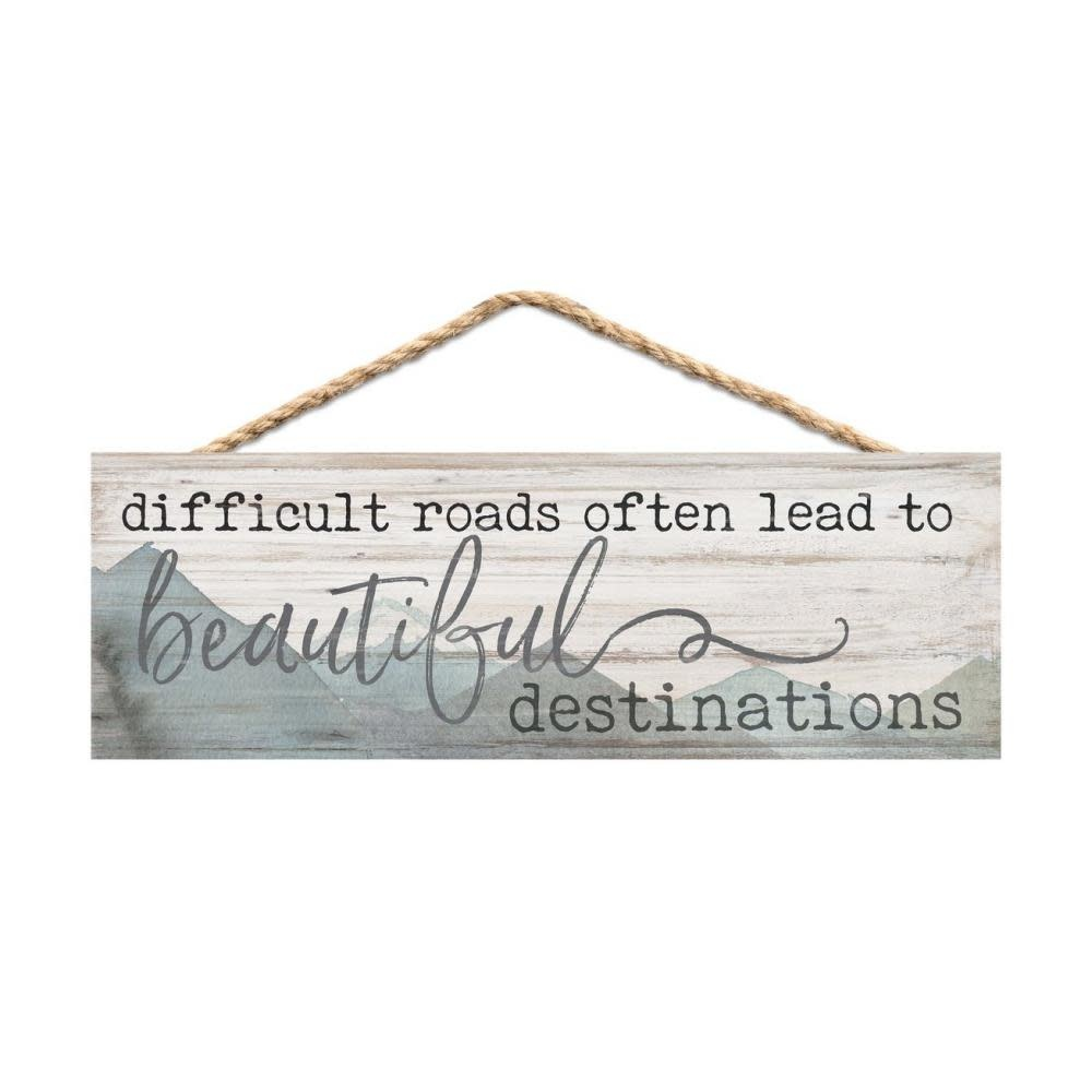 Hanging Inspirational Sign