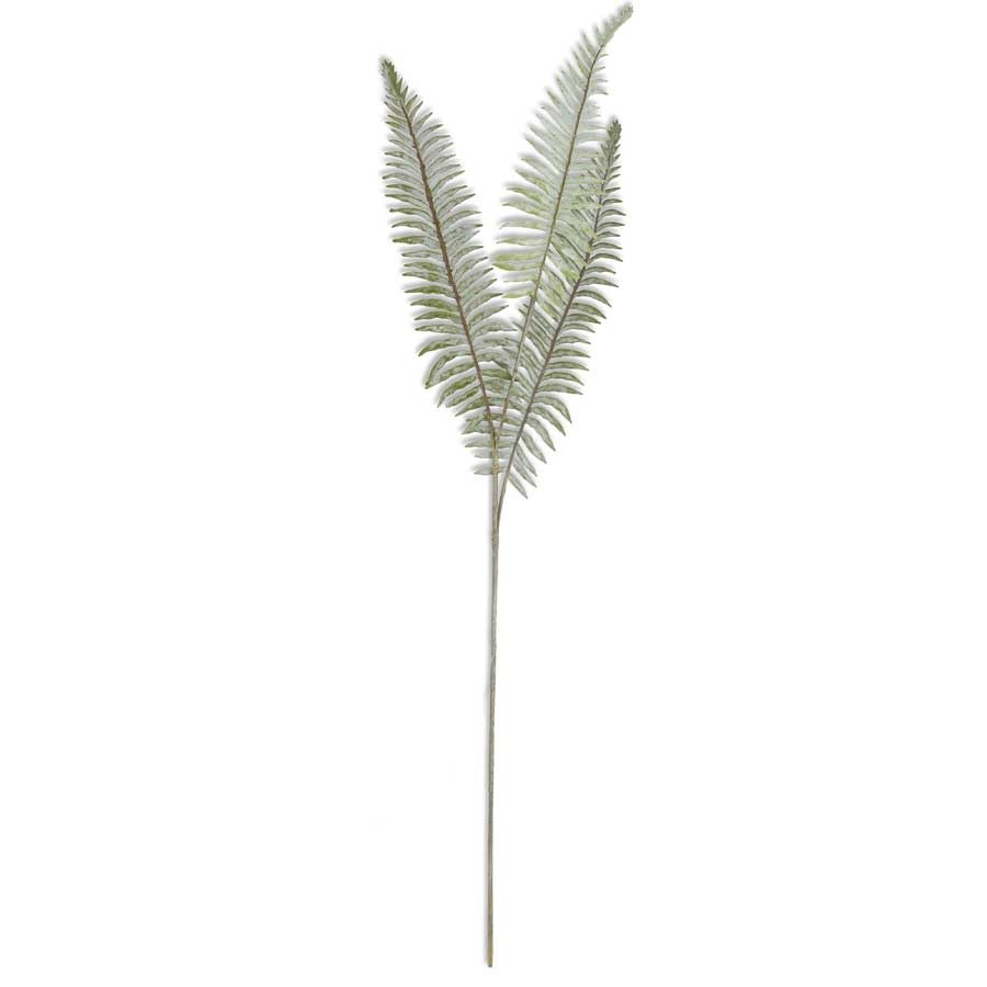 36 Dusty Boston Fern Pick Real Touch Artificial Ferns The