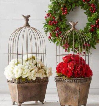 Decorative Birdcage Container (2-Styles)