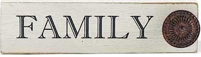 Metal Accented Block Sign (6-Styles)