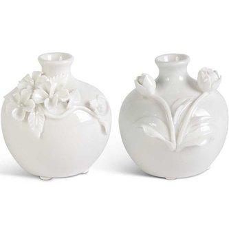 Mini Ceramic 3-D Floral Vase (2-Styles)