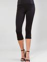 Ponte Cropped Button Pants (2-Colors/2-Sizes)