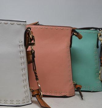 Top Stitch Messenger Bag (4-Colors)
