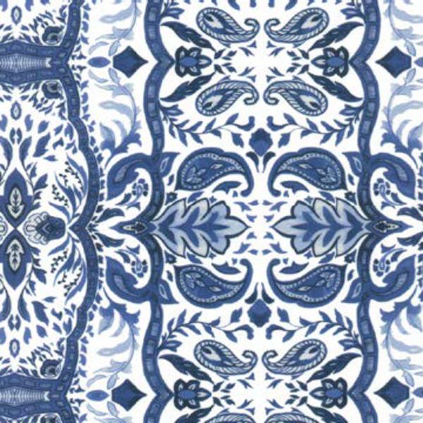 Simply Noelle Simply Noelle Paisley Print Cropped Leggings (2-Colors)