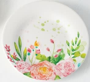 Small Peony Blossom Plate
