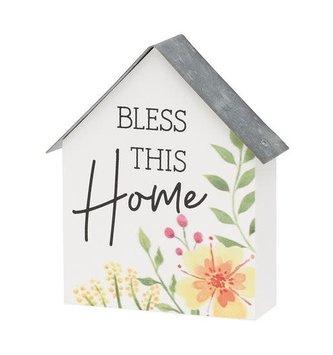 Mini Home Block Sign (2-Colors)