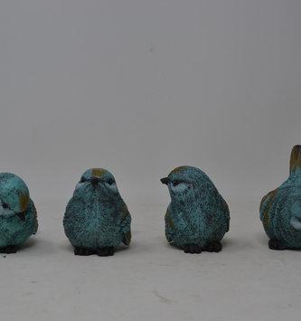 Small Aqua Bird (4-Styles)