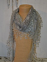 Triangle Lace Scarf (5-Colors)