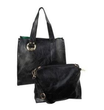 Arizona 2 Handled Tote w/ Inner Purse (5-Colors)