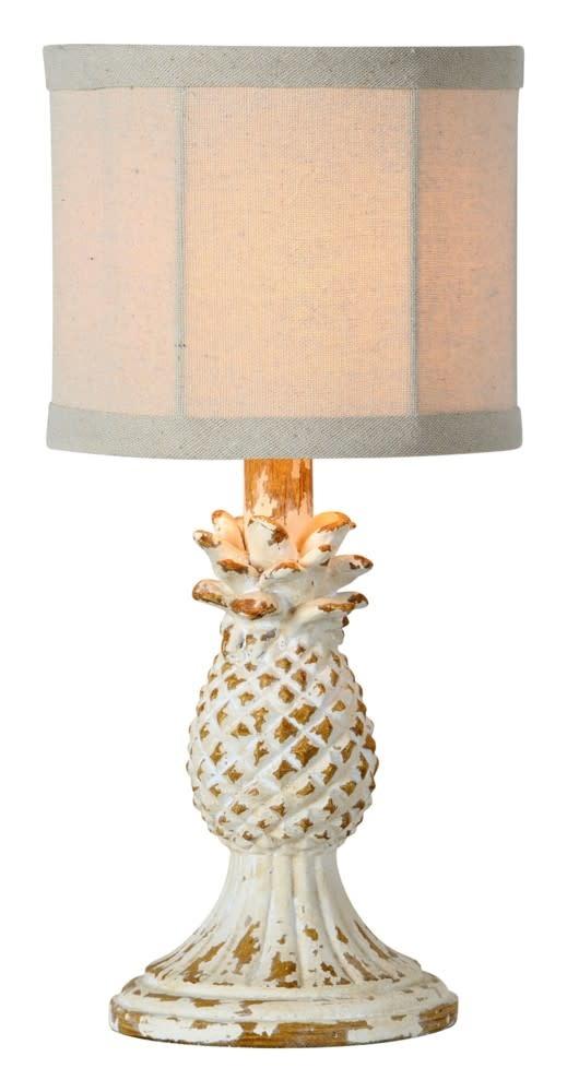 Small Vintage Pineapple Lamp