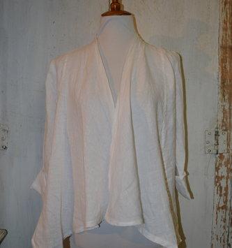 Short Crop Linen Jacket (4-Sizes)