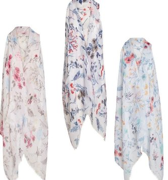 Trudy Sequin Floral Vest (3-Colors)