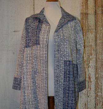 Reversible Collared Coat (4-Sizes)