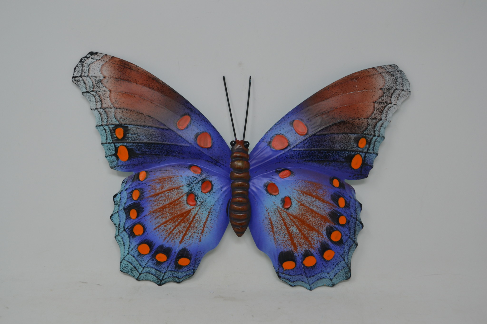Multicolor Metal Butterfly (2-Sizes/6-Styles)