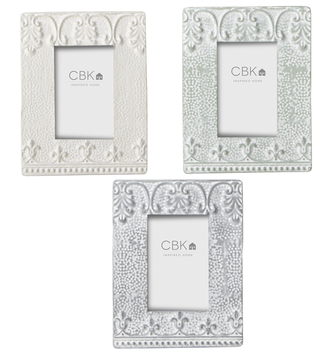 Metal Embossed Frame (3-Colors)